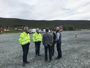 Grunnarbeidet til RAS-anlegget ferdigstilles i løpet av juni, og byggestart er august 2019. Foto: AquaOptima