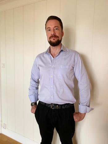 Danwald Lønningen starter i den nye stillingen sin 1. august. Foto: Privat