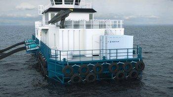 Kompressorer fra Kaeser er anbefalt, men er ikke et krav (Illustrasjon/ visualisering: Pentair Vaki/ Nagelld)