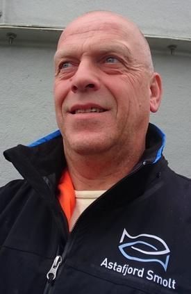 Dagfinn Eidissen, daglig leder i Astafjord Smolt AS. Foto: Privat.