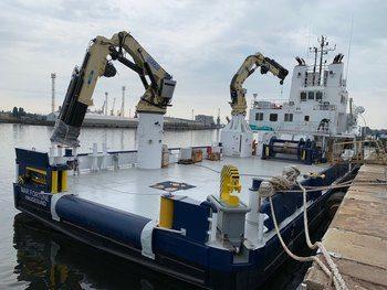 Amar Shipping vil vise fram Mar Fortune under årets Aqua Nor. Foto: Amar Shipping.
