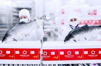 Salmón de Multiexport Foods enviado a China. Foto: Multiexport Foods.