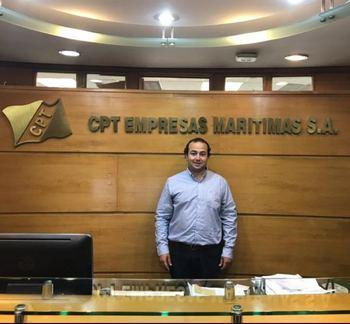Nicolás Mardones, subgerente de Salmones de CPT Empresas Marítimas.