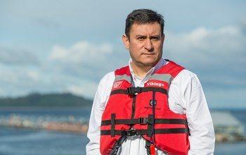 Fernando Villarroel, gerente general de Mowi Chile. Foto: Mowi Chile.
