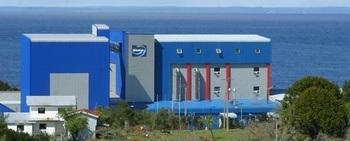 Instalaciones de Biomar en Pargua, Chile. Foto: Biomar