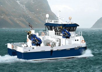 Moen Marin's workboat line-up includes the NabCat catamaran. Click on image to enlarge.  Photo: Moen Marin.