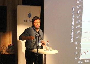 Zacarías Sharon, socio fundador de la empresa organizadora, TecNovum.