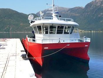 Det er et fartøy av typen NABCAT 1508 Sulefisk har bestilt fra Moen Marin. Foto: Moen Marin