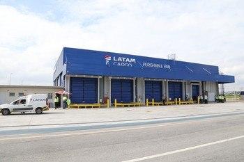 Perishable hub de LATAM Cargo en Brasil. Foto: LATAM Cargo.