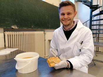 Oskar Mongstad Løken (26). Foto: NMBU