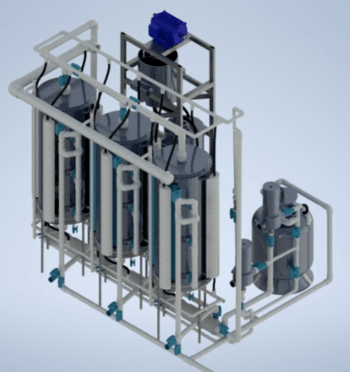 Sistema de FDM Biofilters. Imagen: FDM Biofilters.
