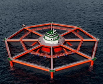 SalMar is developing the Smart Fish Farm, which has twice the capacity of Ocean Farm 1.