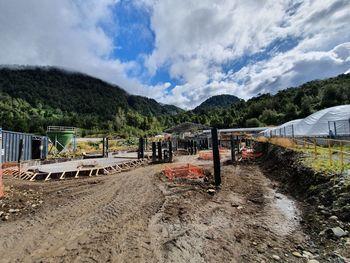 Avances de la construcción de la sala de smoltificación. Foto: Salmonexpert.