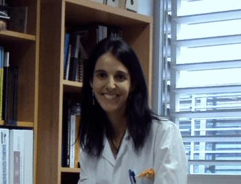Tania Pérez, investigadora del Centro Europeo de Empresas e Innovación de Navarra (CEIN) y Pentabiol en España. Foto: Tania Pérez.