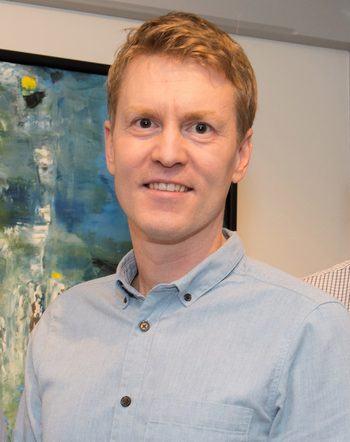 Administrerende direktør i Nordlaks, Eirik Welde, er klar for samarbeid. Foto: Nordlaks.