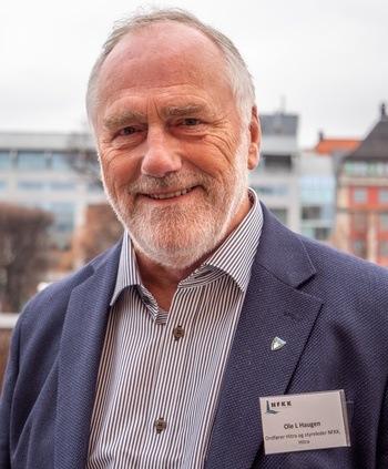 Ole L. Haugen styreleder i NFKK. Foto: NFKK.