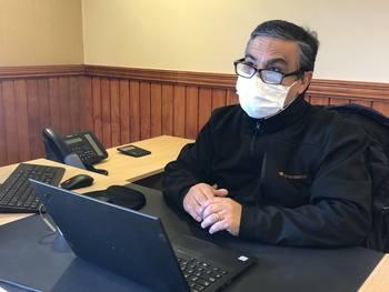 Jerardo Ortuya, gerente de la planta Entrevientos. Foto: BluRiver.