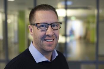 Ove Gjelstenli, salgsdirektør for logistikk i Maritech. Foto: Anunatak
