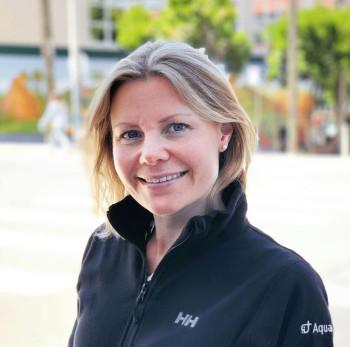 Ragnhild Valen, forskningssjef hos Aquabyte. Foto: Aquabyte