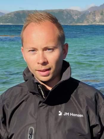 Hans-Ole Nordahl, segmentansvarlig havbruk hos JM Hansen. Foto: Privat.