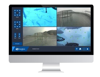 The SeaSight control software can be integrated with Gael Force's SeaFeed software to provide automatic feeding.