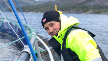 Daglig leder Trond Marøy hos SeaNest/ Estro. Foto: SeaNest.