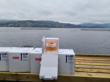 Rognkassene ankom hos Blom Settefisk AS på Askøy den 15.09.20