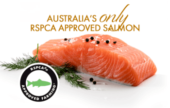Huon is the only Australian salmon producer selling RSPCA-approved fish.