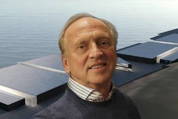 Daglig leder/CEO i Sande Aqua, Peder Bruce, mener at det nye store RAS-anlegget også vil være et viktig bidrag for fagfolk når det gjelder videreutvikling av norsk sjømatproduksjon. Foto: Jan Harald Rismyhr/Billund Aquaculture