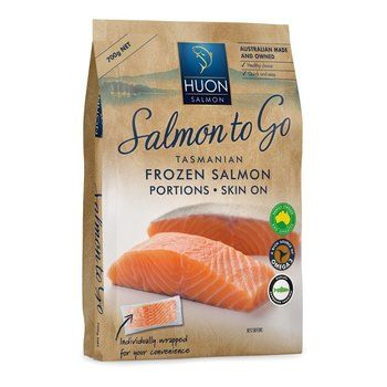 Huon's RSPCA-approved salmon is now available throughout Australia. Photo: Huon.