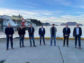 Fra venstre: Sigurd Remøy (Volt), Robert Søviknes (Volt),  Frode Tennfjord (Optimar),  Hans Owen Thunem (Optimar), Hugo Strand (Fitjar), Even Remøy (Volt), Kjell Skar ( Fitjar)