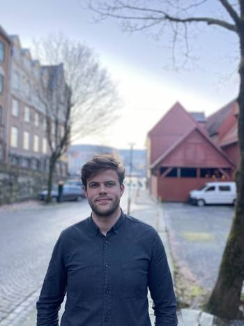 Hans Berg Nåvik startet i sin nye jobb i Manolin 4. januar. Foto: Manolin.