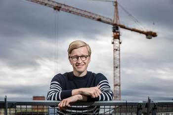 Christian Eriksen, fagsjef i Bellona. Foto: Fredrik Naumann/Felix Features.