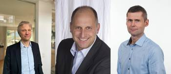 Sentrale personer i utviklingsarbeidet:  Dr. Gido Link. Gido Link er fra universitet i Karlsruhe. i.V. Stefan Betz. Product Manager Heat Technology, Frankfurt. Leif Grimsmo. Senior Project Manager SINTEF Ocean.