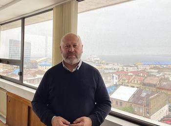 Director de Corfo Magallanes, Marcelo Canobra. Foto: Corfo Magallanes.