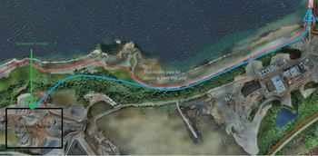 Mowi plans a post-smolt facility close to its feed plant at Kyleakin. Click on image to enlarge. Illustration: Mowi presentation.