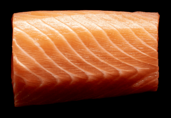 Scottish salmon is well regarded by top UK chefs, a survey shows. Photo: SSPO.