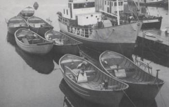Det var Trygve Oma som laget det første spanterisset av en snurpedory i stål. Og det var Gustav Gravdal,