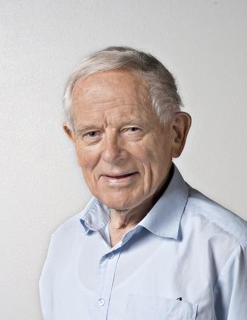 Professor Trygve Gjedrem ble 92 år gammel. Han mottok en rekke æresbevisninger fra inn- og utland for sin store innsats. Foto: Jon-Are Berg-Jacobsen / Nofima
