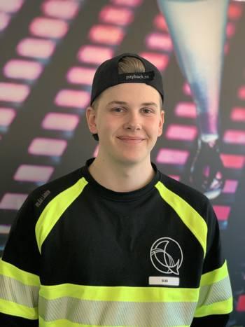 Olav Ludvigsen Stemdal, yngstemann og lærling i Benchmark Genetics Salten