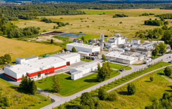 Lallemand's plant in Estonia, where yeast was produced from
