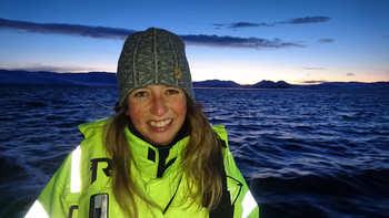 Kine Marhaug er ny fiskehelseansvarlig i Fiizk. Foto: Sofus Olsen