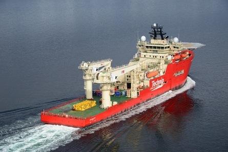 TechnipFMC beskriver skipet som det mest «modern and versatile» DSV i verden og fremhever at det world-wide er et stort globalt potensiale for operasjoner med «Deep Explorer». Foto: Harald Valderhaug