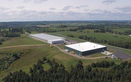 The Superior Fresh facility at Northfield, Wisconsin.