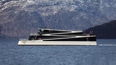 «Future of The Fjords» vant i 2018. Dette var andre gang på tre år at Brødrene Aa og rederiet The Fjords kunne innkassere prisen. Foto: Brødrene Aa