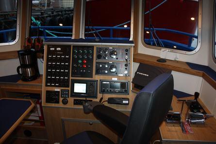 Denne typen fartøy opplyser verftet er av den minste båtserien de produserer. Foto: Sletta Verft.