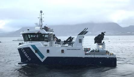 Båten skal gå for Cermaq i Nordland. Foto: Grovfjord Mek.