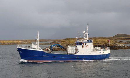 «Oddøy» etter oppussing/oppgraderingene Sleneset Aqua Service AS gjorde på verkstedopphold i vår.  Foto: Sleneset Aqua Service.