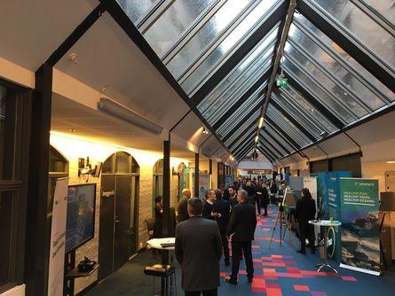 Konferansen samler folk fra hele verden på Bryggen i Bergen. Foto: Sigve Naustdal.