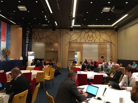 Det skal holdes hele 120 innlegg fra talerstolen på konferansen. Foto: Sigve Naustdal.